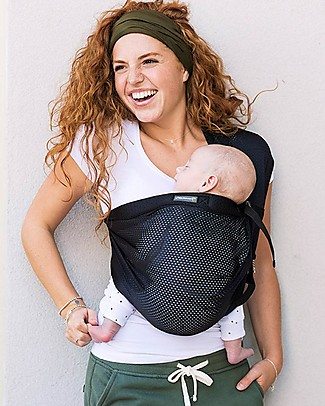 Minimonkey Baby Mini Sling, Black - Light and compact Baby Slings
