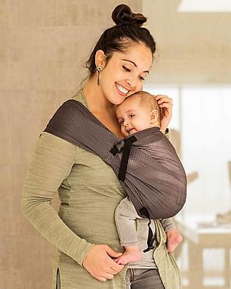Minimonkey Baby Mini Sling, Grey - Lightweight Baby Slings