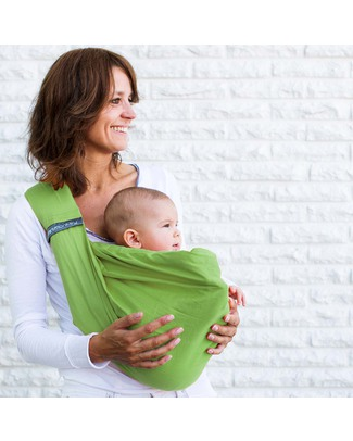 Minimonkey Baby Sling 4 in 1 - 100% Cotton - Lime null