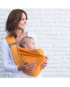 Minimonkey Baby Sling 4 in 1 - 100% Cotton - Orange Baby Slings