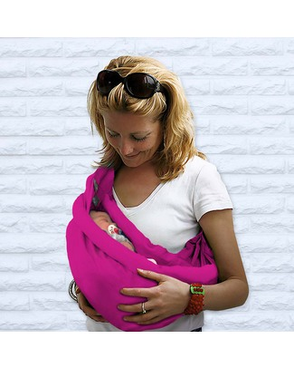 Minimonkey Baby Sling 4 in 1 - 100% Cotton - Pink Baby Slings