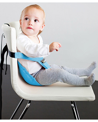 Minimonkey Minichair - Turquoise - Lightweight, Compact & Portable Travel Feeding Chairs