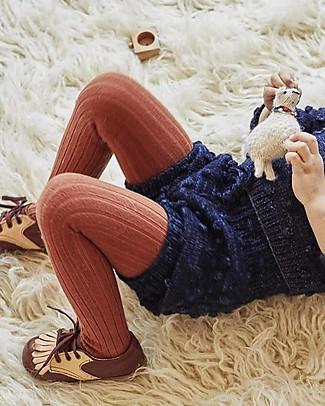 Misha and Puff Popcorn Bloomers, Ink – 100% merino wool Shorts