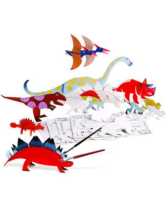 Mitik Dinodulos Dinosaur Craft Set - Recycled Cardboard Paper & Cardboard