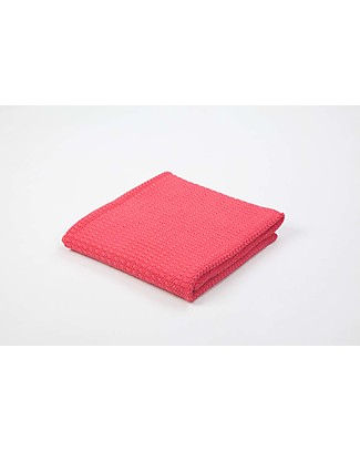 Moba Baby Blanket for Moba Moses Basket, Raspberry Red - 100% Cotton Blankets