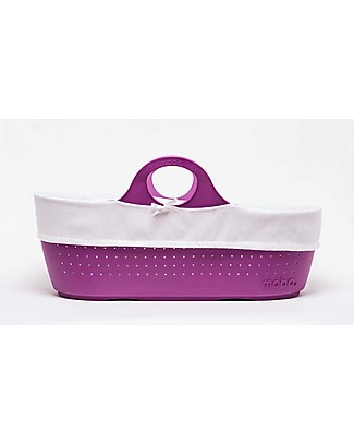 Moba MOBA Mose Basket, Grape Purple Cribs & Moses Baskets