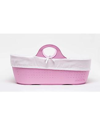 Moba MOBA Moses Basket, Pink Cribs & Moses Baskets