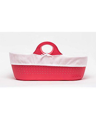 Moba MOBA Moses Basket, Raspberry Red Cribs & Moses Baskets