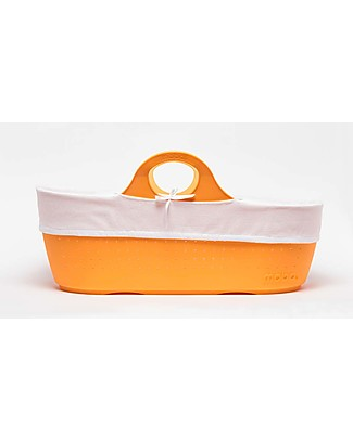 Moba MOBA Moses Basket, Tangerine Cribs & Moses Baskets