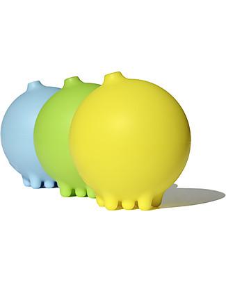 Moluk Pluï Rain Ball Bath Toy – Yellow (free of BPA, phthalates, latex) Bath Toys