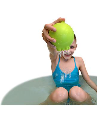 Moluk Pluï Rain Ball Bath Toy - Green (free of BPA, phthalates, latex) null