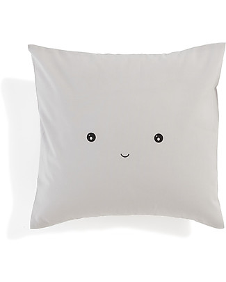 Motomo Baby Cushion Happy - 30x30 cm 100% Organic Cotton Pillows