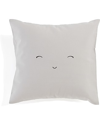 Motomo Baby Cushion Smiling - 30x30 cm 100% Organic Cotton Pillows
