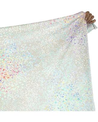 "Motomo Grownup Duvet Cover Set ""Petals"", Rainbow - 150x200 cm - Organic cotton Duvet Sets"