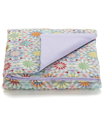 "Motomo Infant Play Pad ""Kaleidoscope""  - 100x100 cm - organic cotton Blankets"