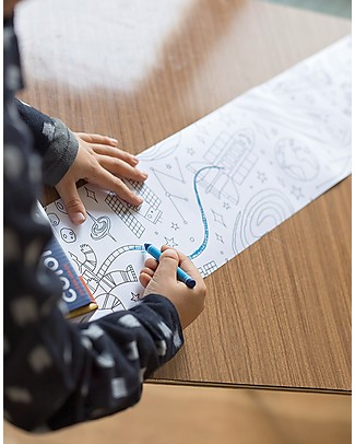 Mudpuppy Coloring Roll, Outer Space - Perfect for group activity! Colouring Activities