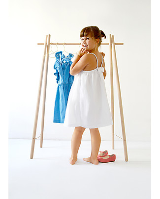 Mum and Dad Factory Beech Wood Children's Clothes Rack, 127 cm tall – Made in France! Hangers & Hooks