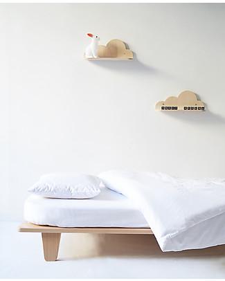 Mum and Dad Factory Beech Wood Cloud Shelf – 33 cm Shelves