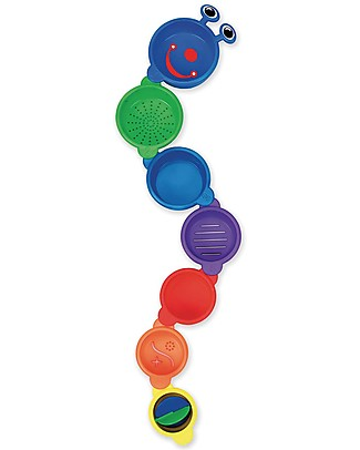 Munchkin Caterpillar Spillers, Bath Toy - 7 numbered bowls Bath Toys