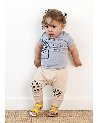 Nadadelazos Baby Pant, Lady Beatle Black - 100% organic cotton Leggings