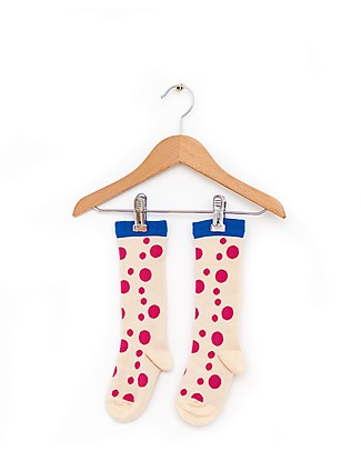 Nadadelazos Baby Socks, Flamenco Dots Socks
