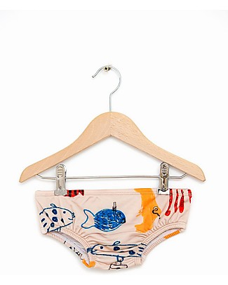 Nadadelazos Baby Swim Set, Mediterranean Fishes Swimming Trunks