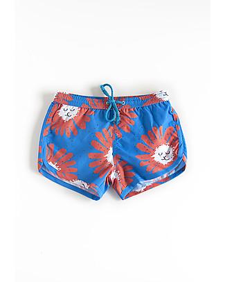 Nadadelazos Boy's Swim Pants, Little Dandelion Swimming Trunks