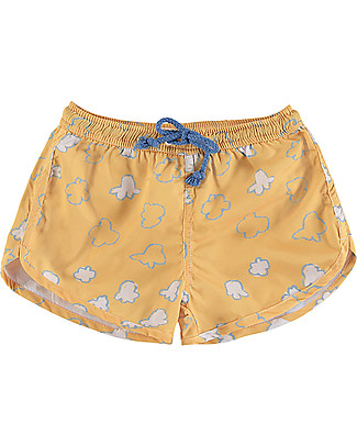 Nadadelazos Boy Swimpants, Popcorn Swimming Trunks