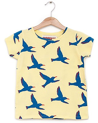 Nadadelazos Flying Seagull T-shirt - 100% organic cotton jersey T-Shirts And Vests