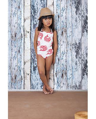 Nadadelazos Girl's Swimsuit, Rita the Fish Swimsuits