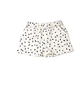 Nadadelazos Short, Rice - 100% organic cotton popeline Shorts