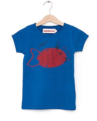 Nadadelazos Snorkel Fish T-shirt - 100% organic cotton jersey T-Shirts And Vests