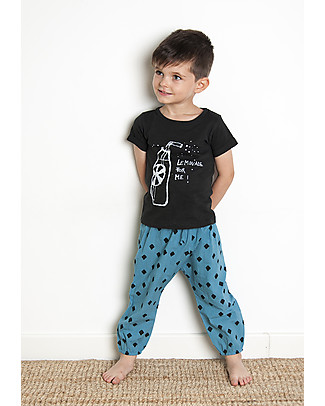 Nadadelazos Unisex Pant, Mini Rombo - 100% cotton Shorts