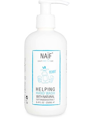 NAIF Baby Care Helping Hand Wash - No Nasties (No SLES/SLS, Parabens, PEG, Mineral Oils) Shampoos And Baby Bath Wash