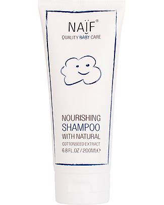 NAIF Baby Care Natural Baby Nourishing Shampoo - No Nasties (No SLES/SLS, Parabens, PEG, Mineral Oils) Shampoos And Baby Bath Wash