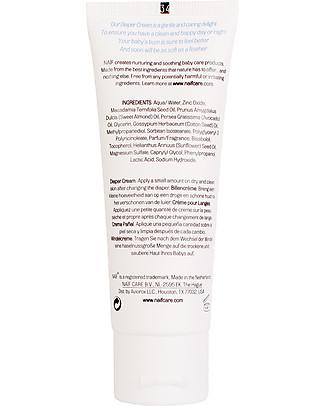 NAIF Baby Care Natural Diaper Cream - No Nasties (No SLES/SLS, Parabens, PEG, Mineral Oils) Nappy Creams