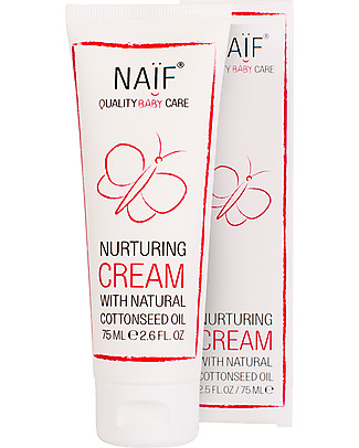 NAIF Baby Care Natural Nurturing Baby Cream Face and Body - (No SLES/SLS, Parabens, PEG, Mineral Oils) Body Lotions And Oils