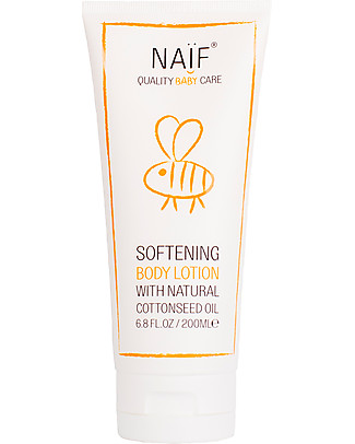 NAIF Baby Care Natural Softening Baby Body Lotion - No Nasties (No SLES/SLS, Parabens, PEG, Mineral Oils)  Baby Creams and Oils
