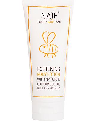 NAIF Baby Care Natural Softening Baby Body Lotion - No Nasties (No SLES/SLS, Parabens, PEG, Mineral Oils)  Body Lotions And Oils
