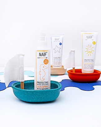NAIF Baby Care Protecting Sun Spray SPF30 - 100 ml - Allergy-free; Protects against UVA and UVB rays Sun Screen