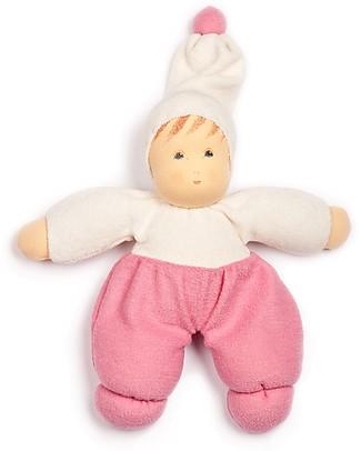 Nanchen Natur Nanchen Pink Doll, 26 cm - Handcrafted Dolls