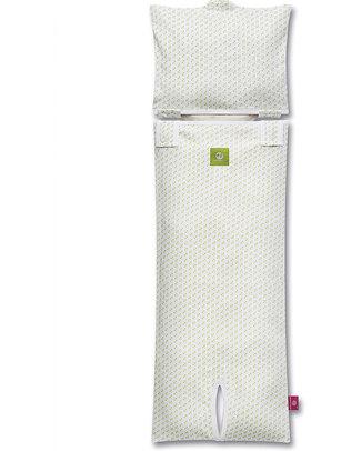 Nati Naturali Children's Car Seat Mattress Cover (9-18kg) - Green Hearts - 100% Organic Cotton! Car Seat Accessories