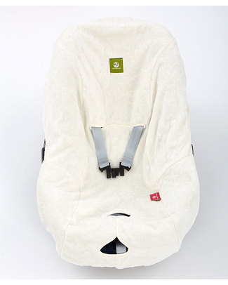 Nati Naturali Infant Car Seat Cover - 100% Natural Terry Cotton - Compatible With All Models! Stroller Accessories
