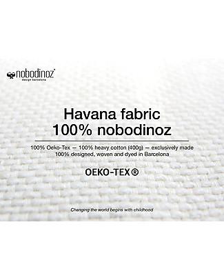 Nobodinoz Kalahari Beanbag, Dolce Vita Pink - organic cotton Cushions