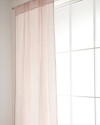 Nobodinoz Utopia Curtain, Dream Pink - 146x280 cm - 100% Cotton Tepees & Tents