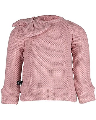 Noeser Bow Gold Floor Sweater, Fairy Pink – 100% Organic Cotton Sweatshirts