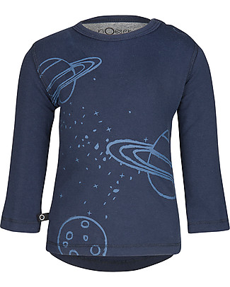 Noeser Hilly, Long Sleeves Top, Planet - Elasticated organic cotton Long Sleeves Tops