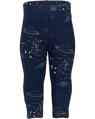 Noeser Levi Leggings, Space, Midnight Blue - Elasticated organic cotton Leggings