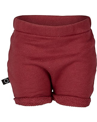 Noeser Robin Shorts, Totem Red – 100% Organic Cotton Shorts