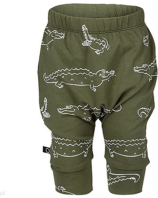 Noeser Shorts Croco, Woody Green – Organic Cotton Shorts